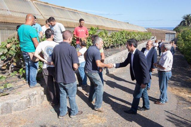 NP Quintero Reitera Su Apuesta Por La Formación Agraria Y Traslada A Los Alumnos