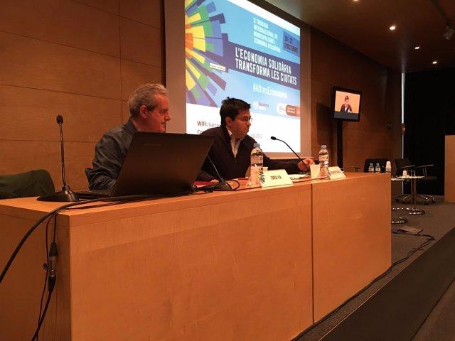 Jordi Via y Gerardo Pisarello