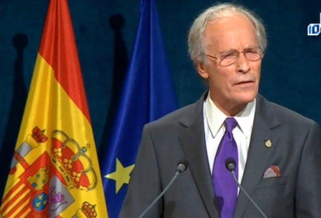Richard Ford en los Premios Princesa de Asturias