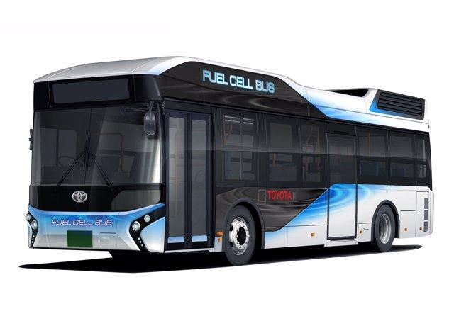 Toyota FC Bus de pila de combustible