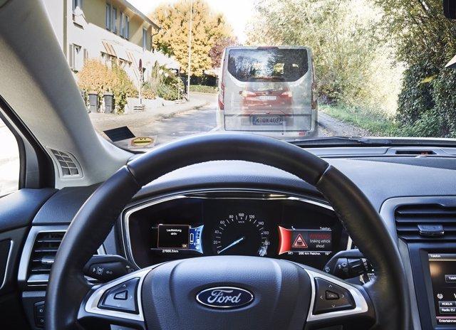 Proyecto de semáforos en verde de Ford