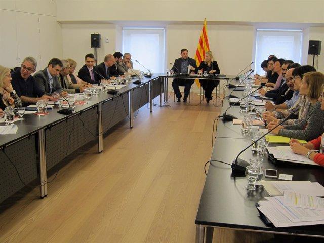 Segunda reunión de la comisión de seguimiento del pleno de la pobreza