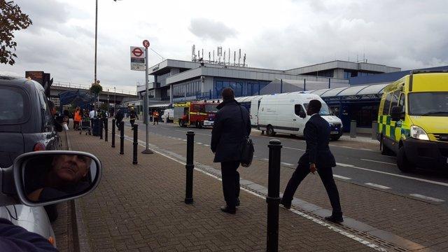 Evacuado el Aeropuerto de la Ciudad de Londres