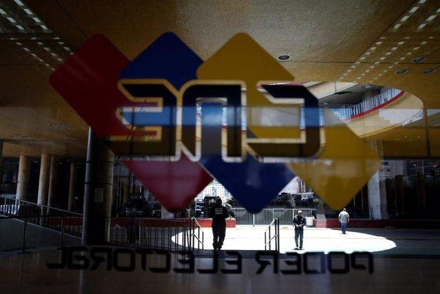 Sede del Consejo Nacional Electoral (CNE) de Venezuela