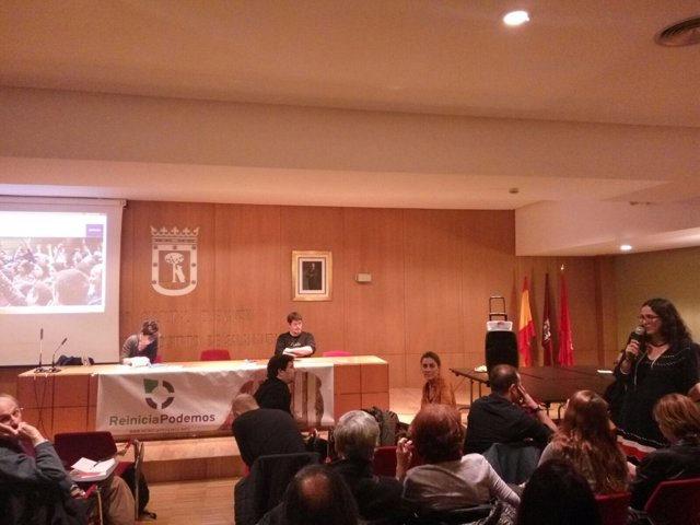 Asamblea de Reinicia Podemos