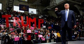 Sólo la mitad de los republicanos aceptarían una victoria de Clinton