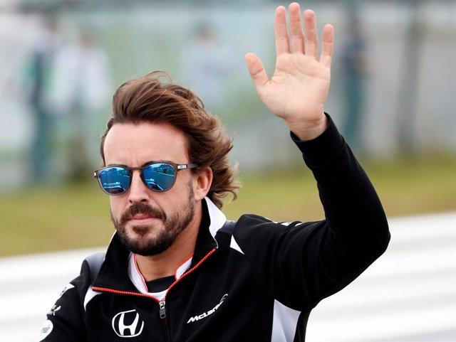 Fernando Alonso en el circuito de Austin
