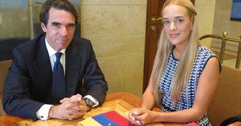"""Aznar acusa a EEUU y a países latinoamericanos de guardar un """"silencio..."""
