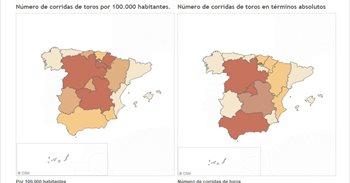 Las comunidades autónomas más taurinas y otras cifras sobre las corridas...