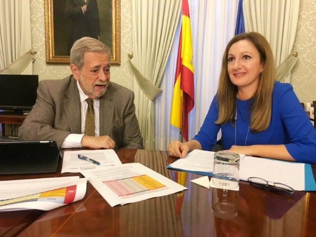 Ascensión Carreño y Antonio Beteta
