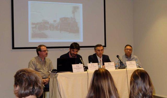 Presentación del libro en Tudela.