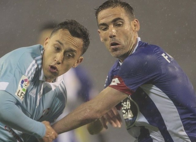 Fabián Orellana Fernando Navarro Celta Deportivo