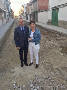 NOTA Y FOTOS Remodelación Calle Cervantes