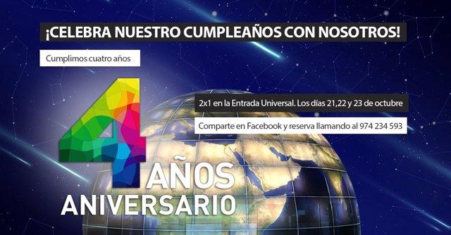 El Espacio 0.42 celebra su cuarto aniversario.