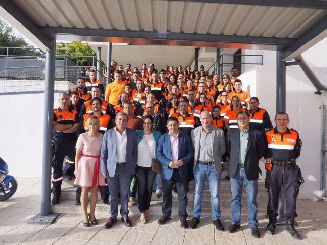 Encuentro Nacional de Protección Civil en Jódar (Jaén)