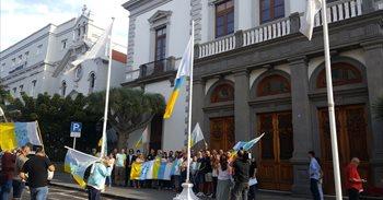 Hernández Bento acusa a Bermúdez de permitir el izado de la bandera de...