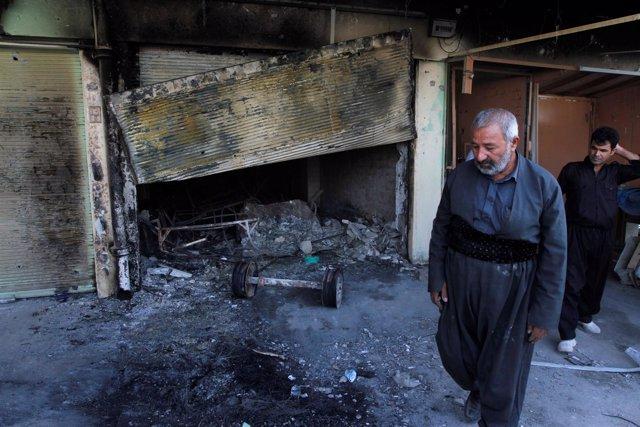 Ofensiva del Estado Islámico en Kirkuk