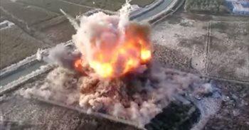 Los talibán publican un vídeo de un atentado suicida grabado con un dron