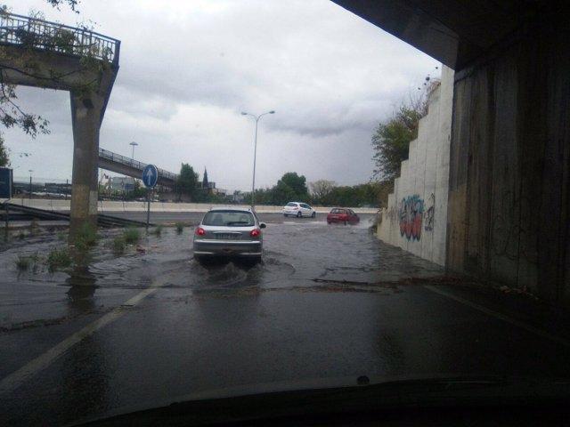 Incidencias por lluvias en Andalucía
