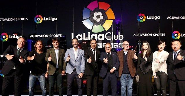 LaLiga presenta en China LaLiga Club, primer club de fans en China