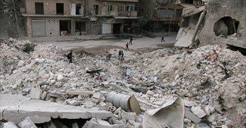 Intensos combates y bombardeos tras el fin de los tres días de tregua en...