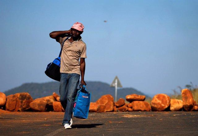 Sudáfrica, Mozambique, migración