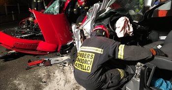 Fallece una persona y tres resultan heridas en un accidente entre...