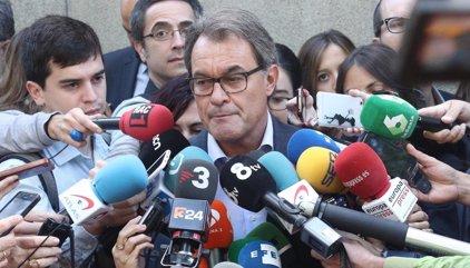 """Mas: un Gobierno de PP, con consentimiento de PSOE y C's hace """"difícil"""" conseguir un """"referéndum"""" acordado para Cataluña"""