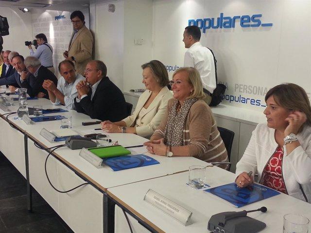 Mercedes Fernández, en el Comité Ejecutivo Nacional
