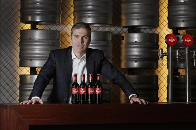 El director de Exportación de Damm, Guillem Castellà