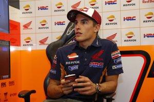 """Márquez: """"Ha sido un error mío, la caída no ha tenido que ver con los neumáticos"""""""