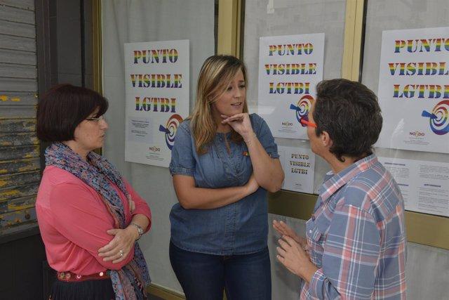 Inauguración de Punto Lgtbi por el Ayuntamiento de Sevilla