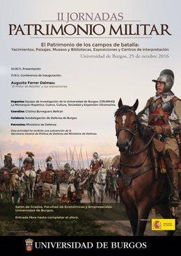 Jornadas sobre Patrimonio Militar en Burgos