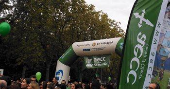 La Marcha Contra el Cáncer de Valladolid reúne 35.000 personas