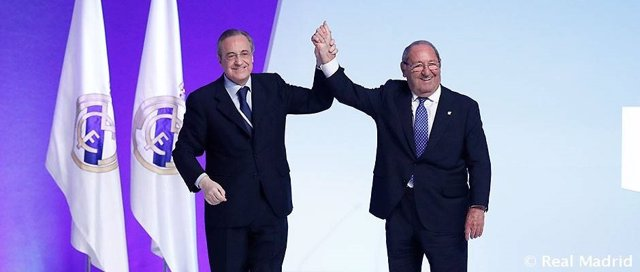 Florentino Pérez Paco Gento Real Madrid presidente honor
