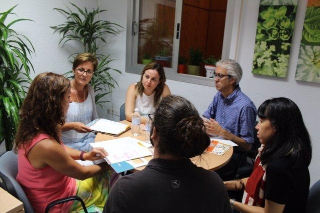 Visita del PSOE al Proyecto Hombre