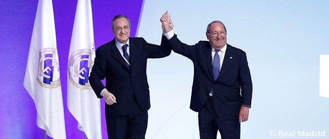 Florentino Pérez Paco Gento Real Madrid presidente honor