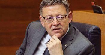Ximo Puig vota a favor de la abstención a Mariano Rajoy
