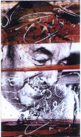 Obra de la exposición Una visión de Pablo Neruda