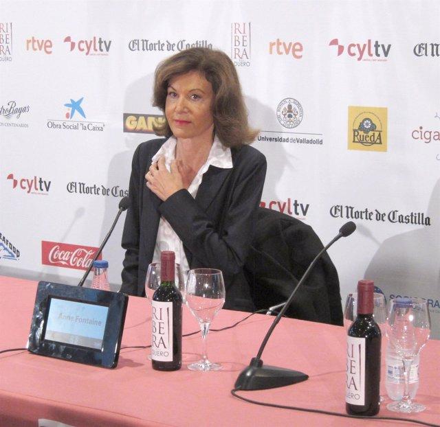 La directora Anne Fontaine