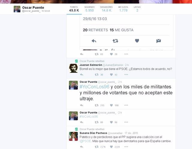 Twitter de Puente