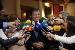 Javier Fernández diu que la decisió del Comitè Federal sobre l'abstenció és imperativa (EUROPA PRESS)