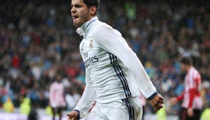Morata salva el liderato y otro discreto día en el Bernabéu