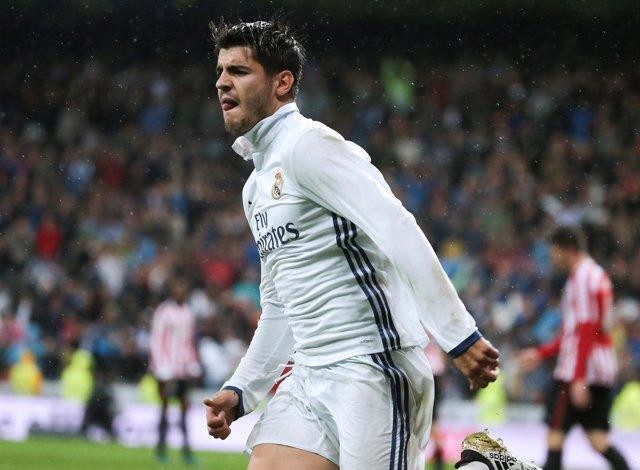 Álvaro Morata da el triunfo al Real Madrid