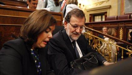 """Rajoy ve """"muy razonable"""" la abstención  del PSOE y ve posible llegar a acuerdos con """"voluntad política"""""""