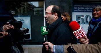 """Iceta al PSOE: """"Desobedecemos y estamos dispuestos a aguantar las..."""