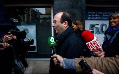 """Iceta insisteix: el PSC dirà 'no' a Rajoy """"votin el que votin"""" els diputats del PSOE (EUROPA PRESS)"""