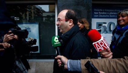 """Iceta insisteix: el PSC dirà 'no' a Rajoy """"votin el que votin"""" els diputats del PSOE"""