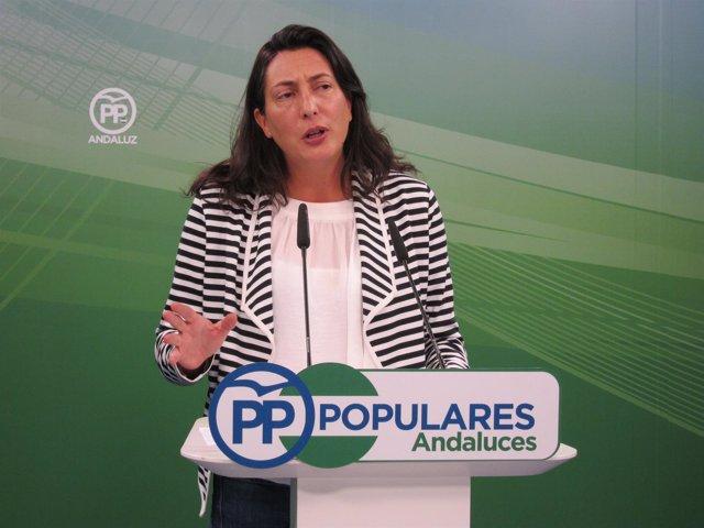 La secretaria general del PP-A, Dolores López