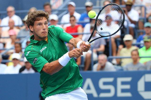 Pablo Carreño en un partido del US Open